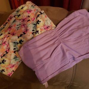 Two Victoria Secret Bandeaus Large